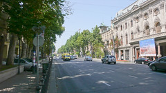 Aleja Rustaveli w Tbilisi.