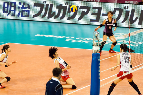 宮下遥@FIVB World Grand Prix2014 FINAL