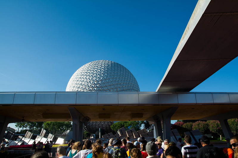 Epcot Opening