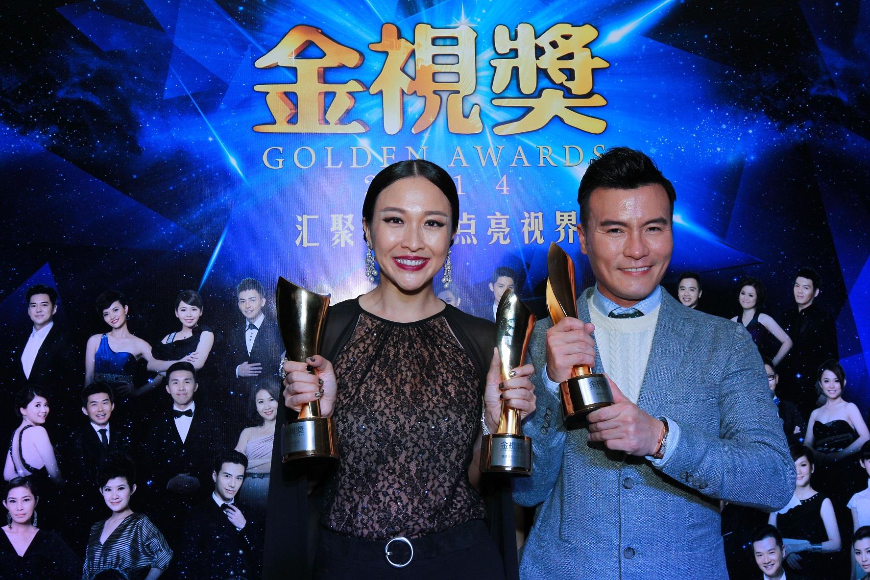 Pelakon Lelaki & Wanita Terbaik - Frederick Lee & Debbie Goh