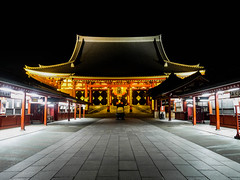 Sensō-ji temple in Asakusa, Tokyo