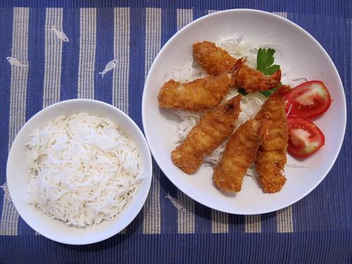 Ebi Furai Dinner