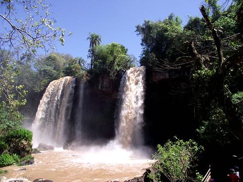 waterfall brazil