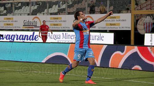 """Catania, Calaiò: """"Situazione difficile?La colpa non è degli infortuni ma di tutta la squadra""""$"""