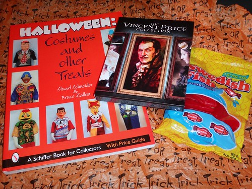 Costume Book, Vincent Price Set