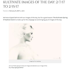Kultivate Images of the Day - 02/07/2017 to 02/15/2017