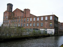 Manchester - Wellington Mill, Whitelands, Ashton Canal