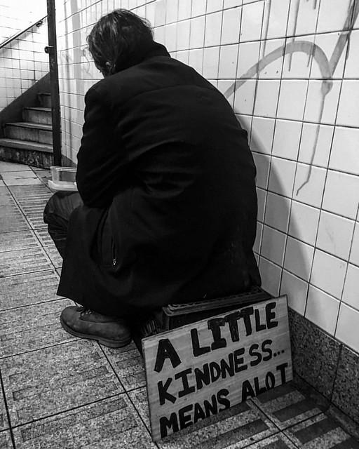 #compassion #empathy #genorosity #whatwouldjesusdo #blackandwhitephotography #documentaryphotography #thepoor #homeless #homelessness #newyorkcity #soho