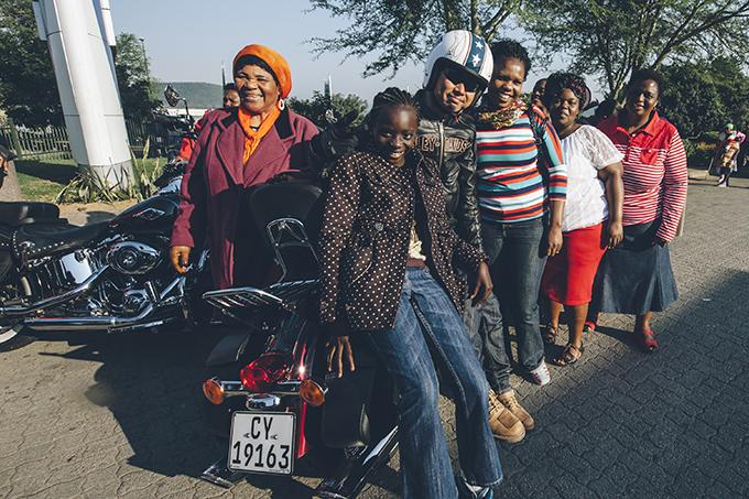 Harley Davidson Desmond Louw South Africa 0135
