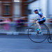 London Nocturne - Penny Farthing Race by Philip Payne