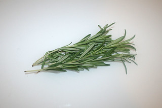 08 - Zutat Rosmarin / Ingredient rosemary