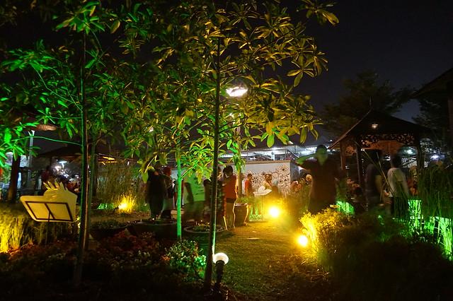 kunjungan malam pesta bunga