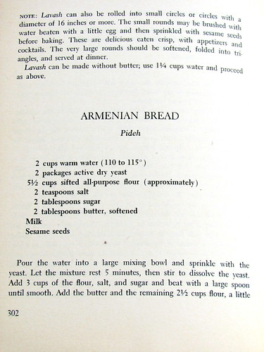 Armenian Pide Bread