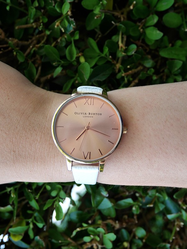 Olivia Burton White Watch