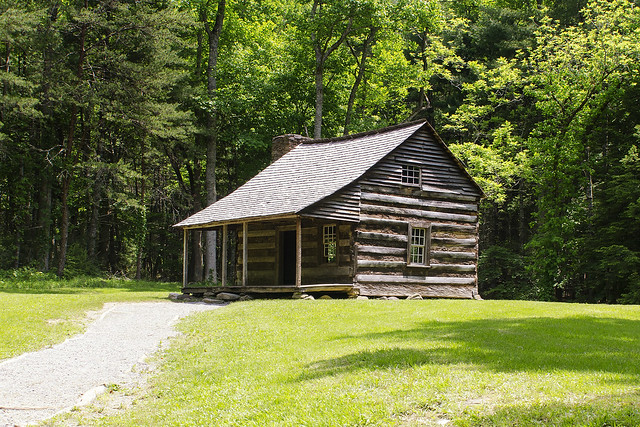 Tennessee Log Cabin Flickr Photo Sharing