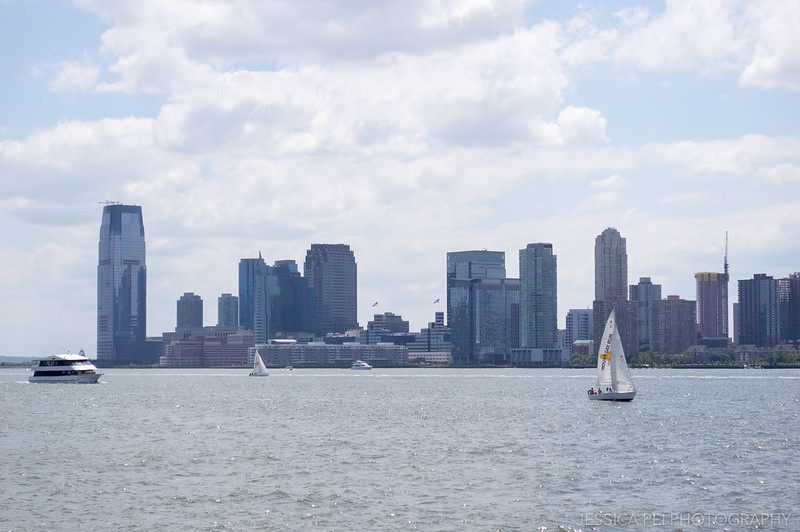 Hudson River in Manhattan New York