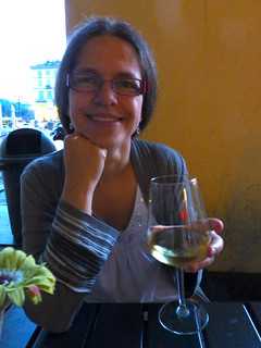 A Nice Glass of Wine Before Dinner