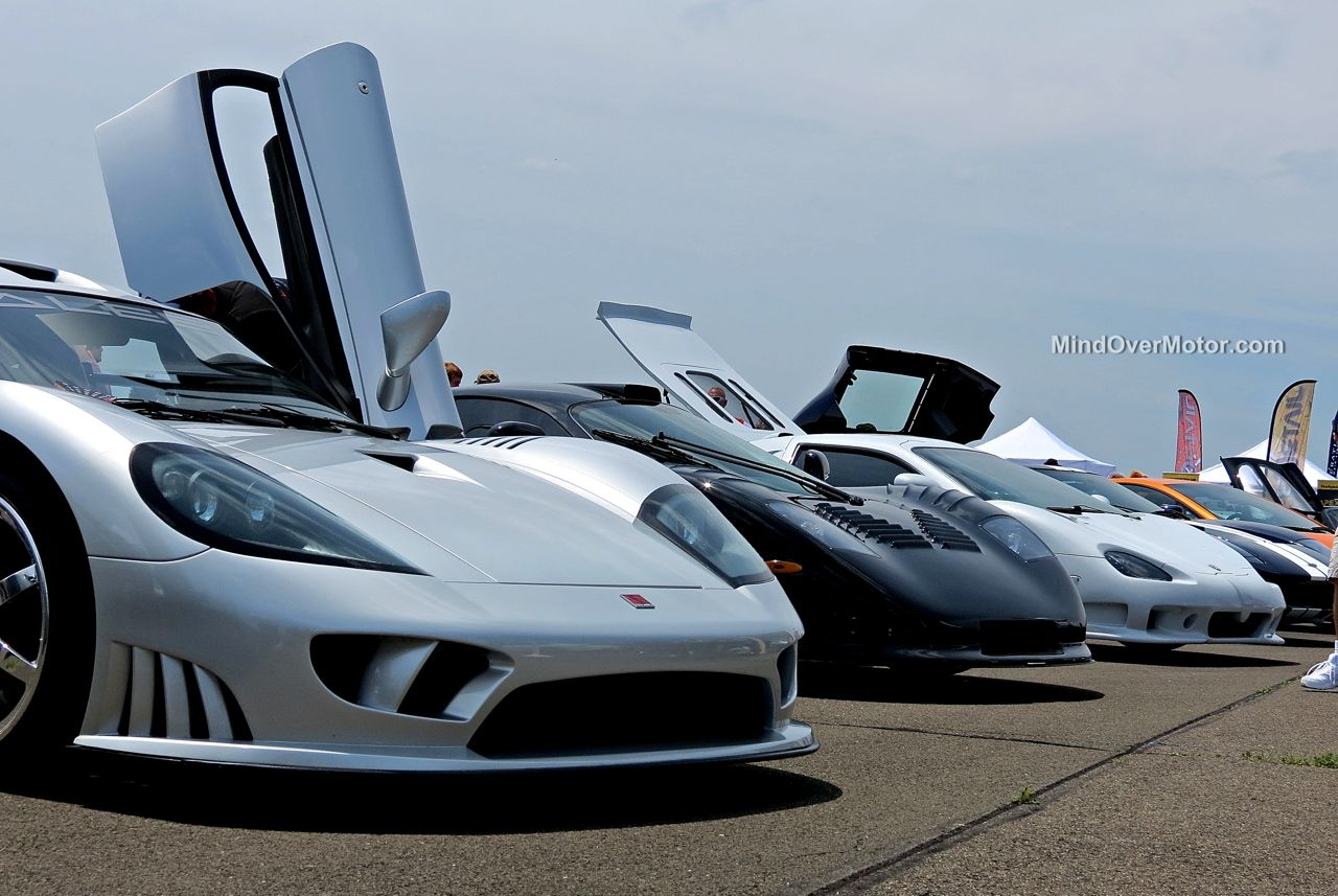 Saleen, Mosler, and SSC at CF Charities