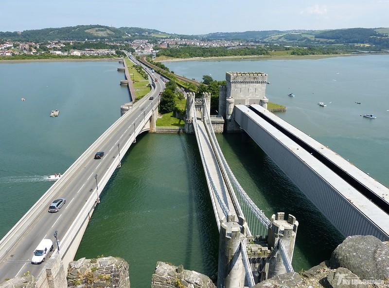 P1070928 - The Conwy Bridges