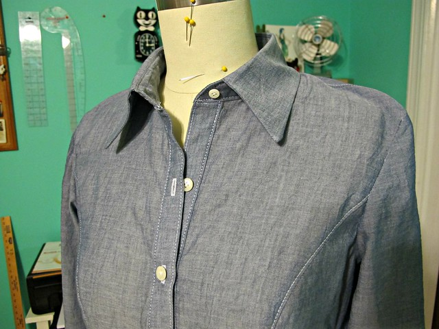 Chambray Buterick 5526