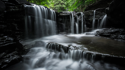 waterfall long exposure kill plotter