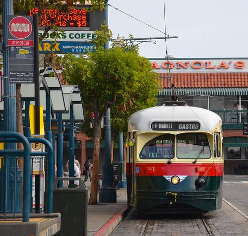 Streetcar 1077  at the Wharf