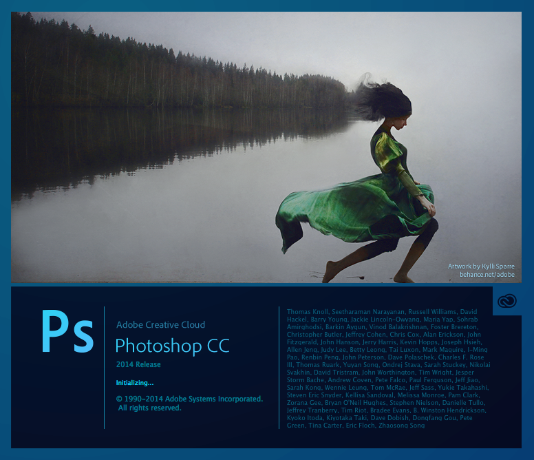 Adobe Photoshop CC 2014 - Splash