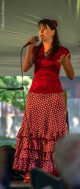 Flamenco au Parc des Chenaux