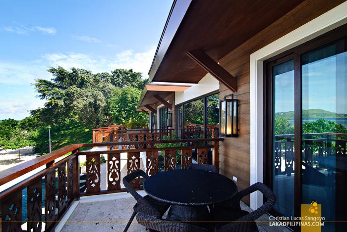 Room Veranda at Astoria Bohol Resort