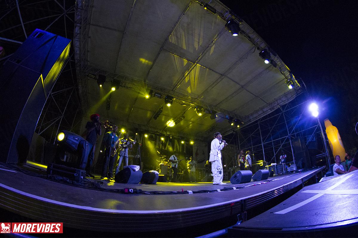 Main Stage con Bunny Wailer e la sua band