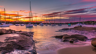 Wollongong Harbour Sunrise