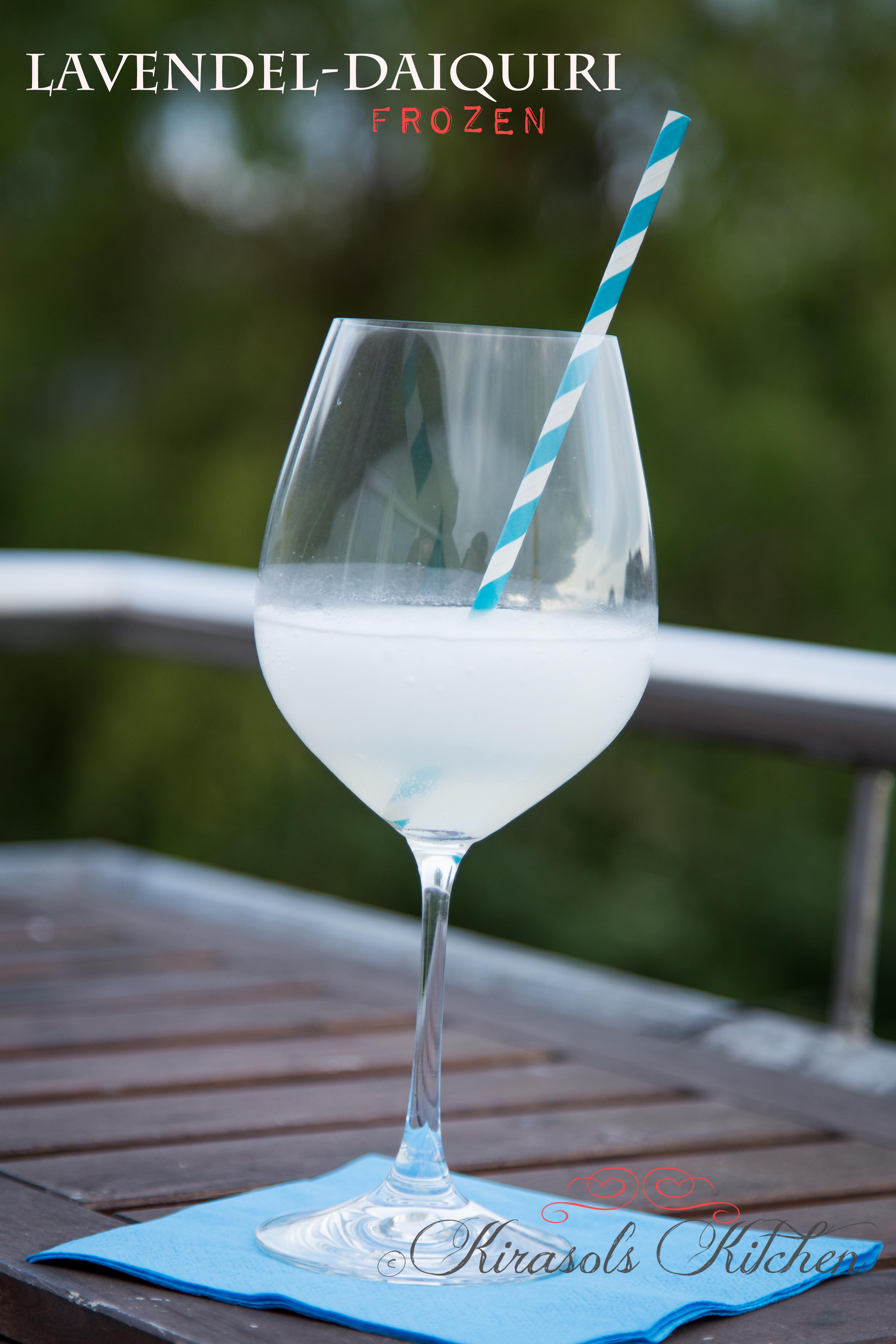 Frozen Lavendel-Daiquiri