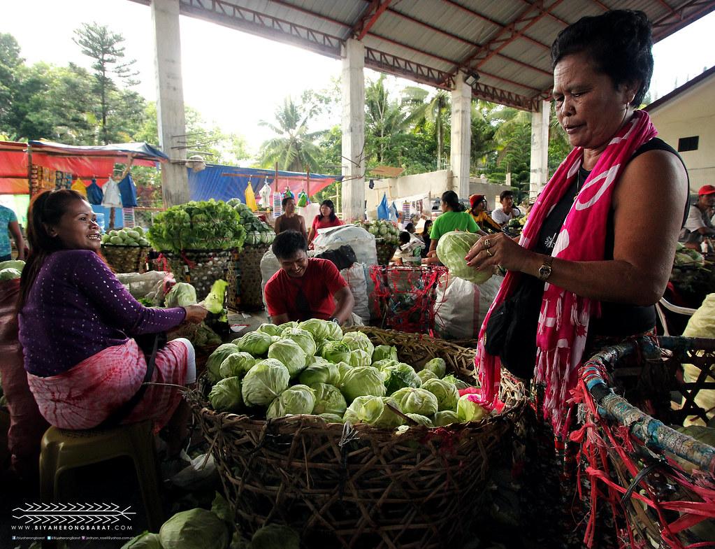 Dalaguete Cebu mantalongon vegetable basket bagsakan