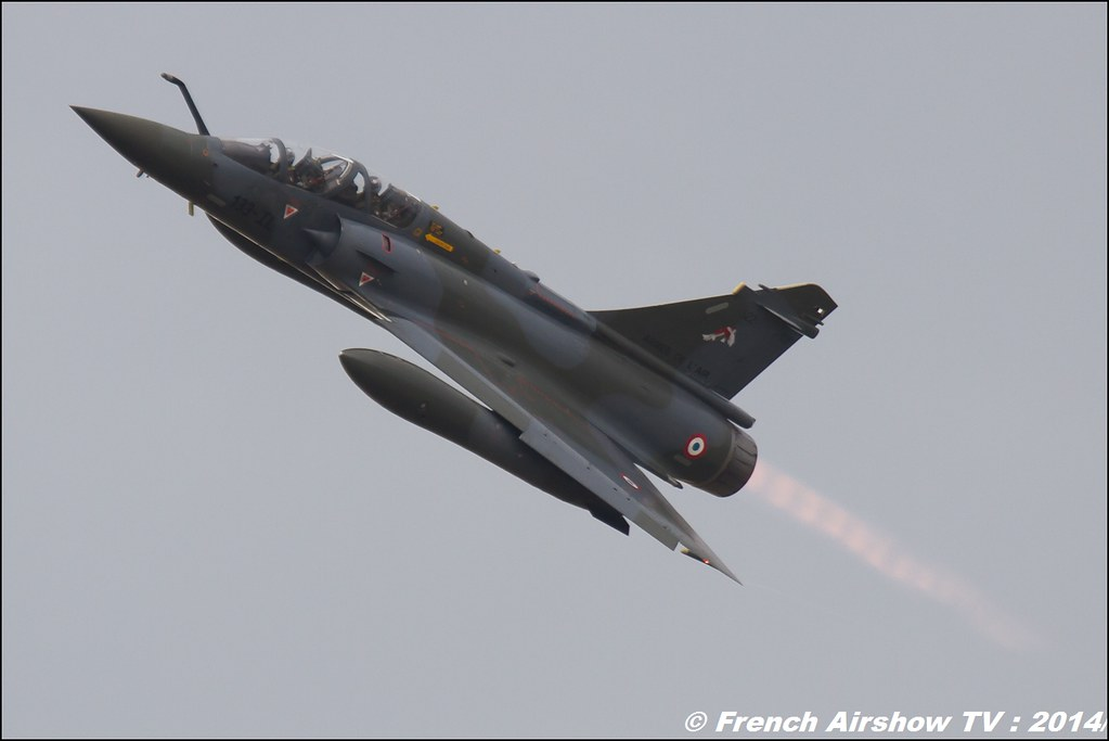 Patrouille Mirage 2000D Meeting Aerien BA-133 Nancy Ochey 2014