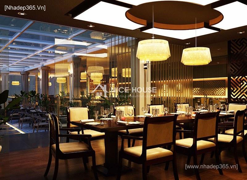 Nội thất nhà hàng Cây Xoài - HN_1