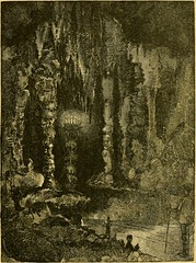 "Image from page 28 of ""The caverns of Luray : an illustrated guide-book to the caverns, explaining the manner of their formation, their peculiar growths, their geology, chemistry, etc."" (1886)"