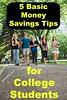 5 Basic Money Savings Tips for College Students