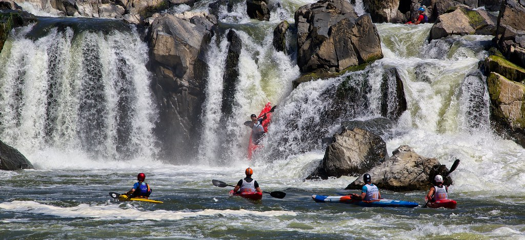 Racing Down the Great Falls