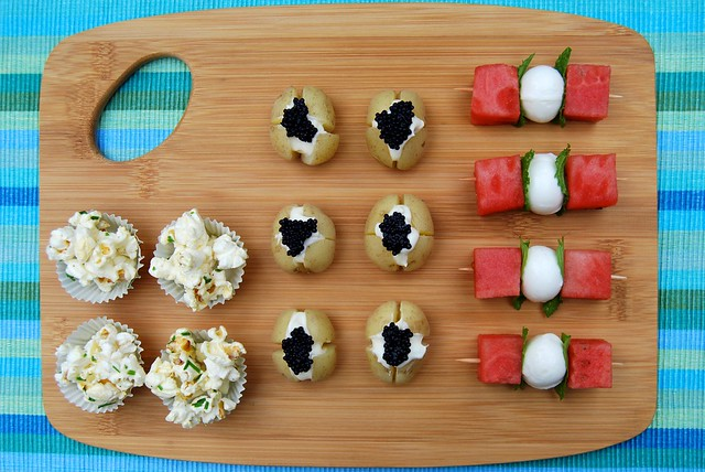 3 Quick & Easy Summer Party Canapé Ideas