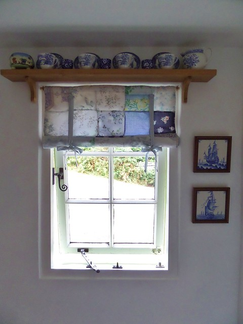 Blue China Window