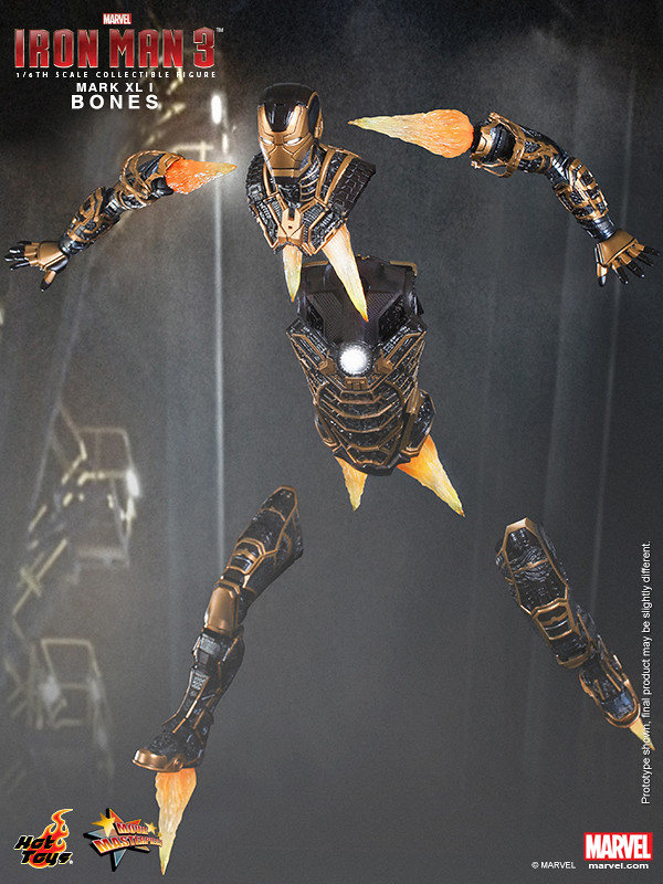 Hot Toys - Iron Man 3 - Bones (Mark XLI) Collectible Figure_PR13