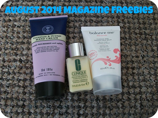 Magazine Freebies August 2014