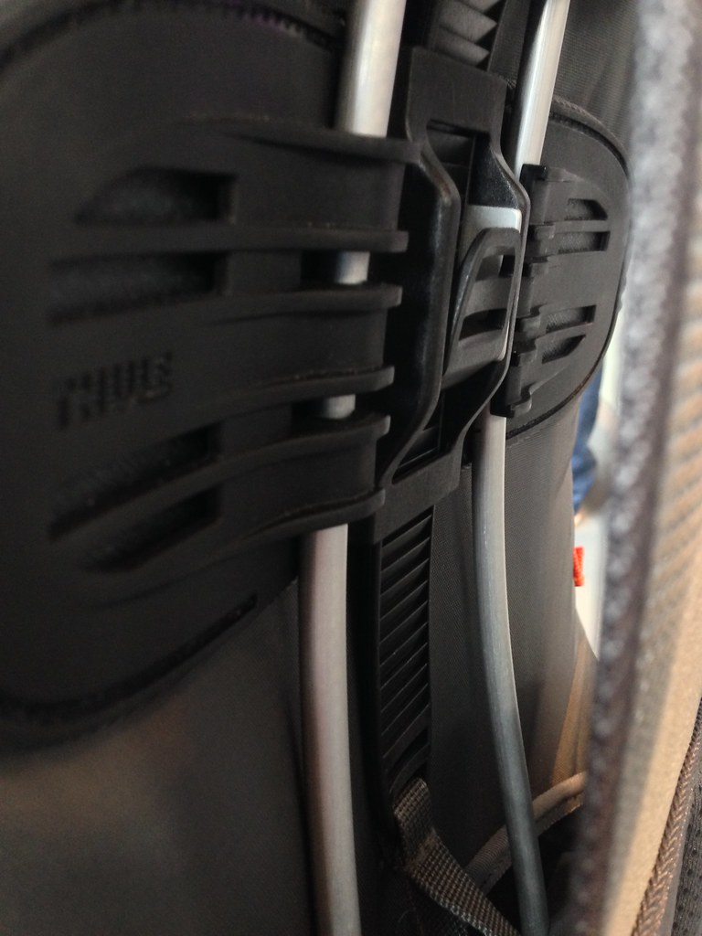 Thule backpacks size adjustment system