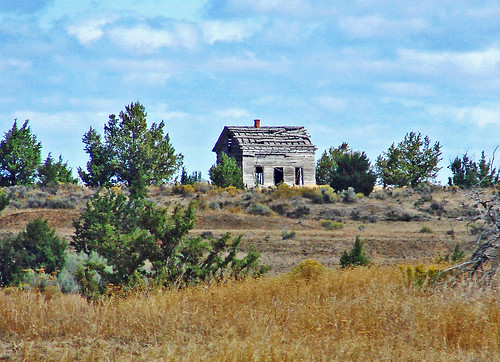 Little House on Shaniko Prairie, OR 8-13