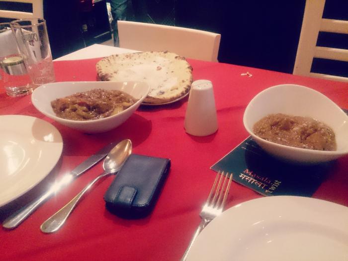 masala twist food