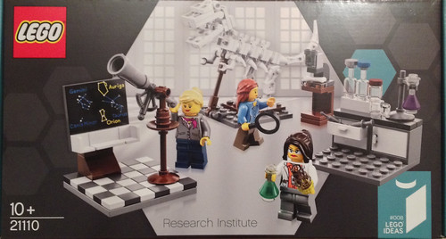 Women Scientist Lego Box