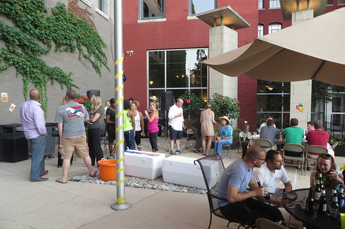 Sycamore Place Lofts Luau