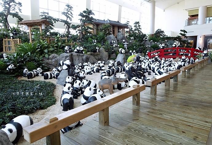 6 1600熊貓世界之旅-SOGO復興館日式庭園