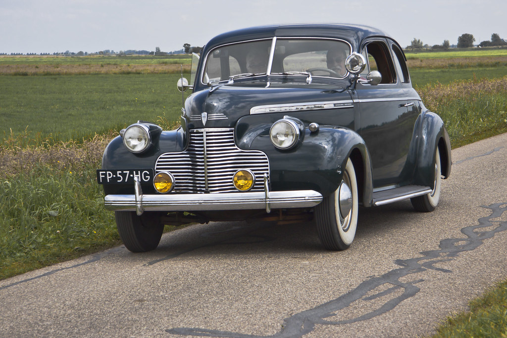 Chevrolet Special DeLuxe Coupe 1940 (7660)