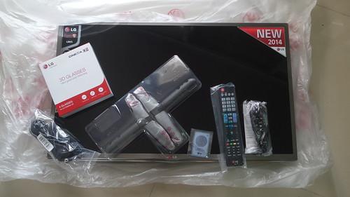 ของที่มากับกล่อง LG Smart TV 32LB650T
